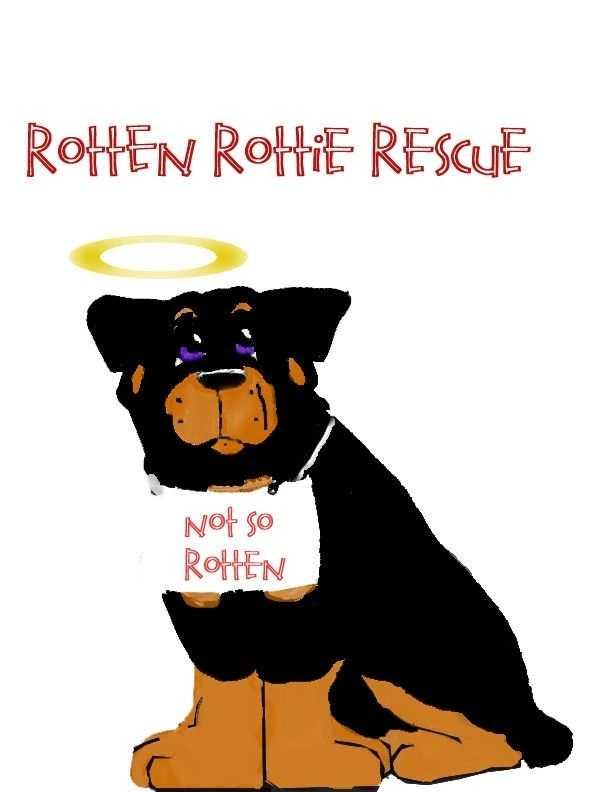 Rotten rottie logo